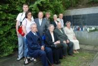 Uroczystość upamiętnienia zamordowanych przez Hitlerowców mieszkańców Łęcznej