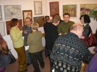 Wystawa prac uczestników zajęć pracowni twórczej malarstwa sztalugowego