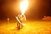 Noc świętojańska - pokaz żywego ognia