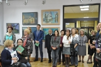 wystawa poplenerowa XI Międzynarodowego Pleneru Artystycznego- Łęczna 2015